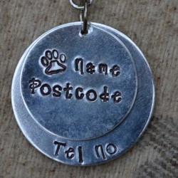Double Disk Dog ID Tag