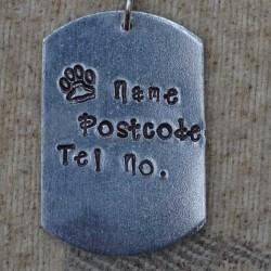 Dog Tag Dog ID Tag